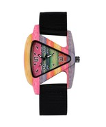 4 Colors Nylon Band Style Women's Fashion Colorful Hollow Triangle Woode... - $32.37