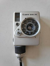 Canon Dial 35 Half Frame Point and Shoot Camera ultra rare made in Japan 1970s - $79.19