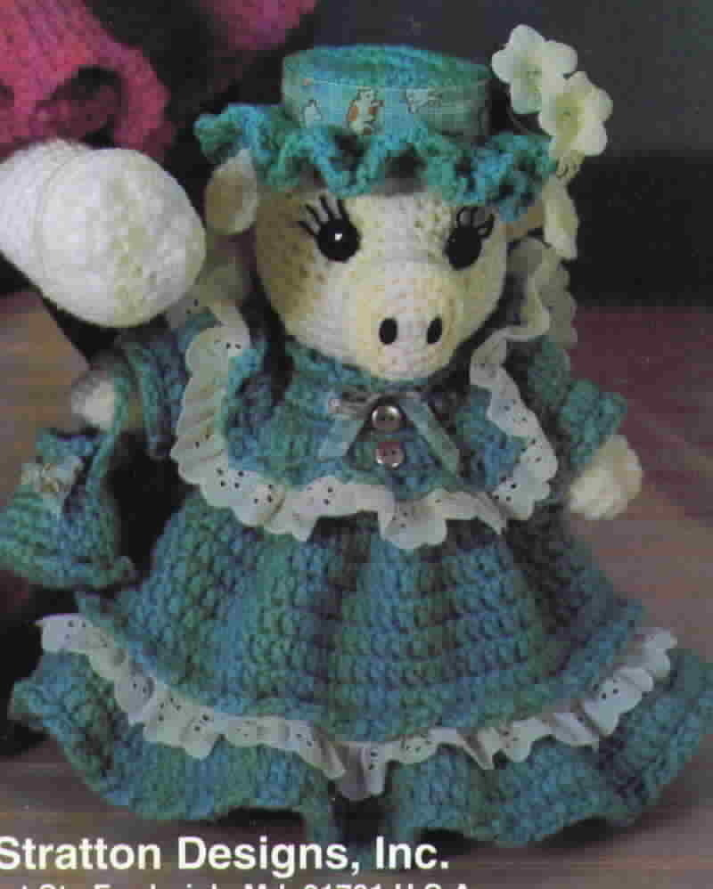 Kappie Originals Country Folk Dolls to Crochet by Alexander Stratton Designs