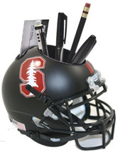 Stanford Cardinal (Black with Tree) NCAA Football Schutt Mini Helmet Desk Caddy - $21.95