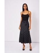 Tie Waist Diagonal Stripe Skirt Sizes 10, 12, 14, 16 Brand NEW - $18.47