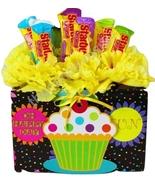 Starburst Happy Birthday Candy Bouquet - $14.99
