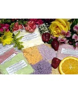 10 Lavender Lemon Skin Bath Fizzy Powder Bomb Melt Handmade Berrysweet S... - $12.00