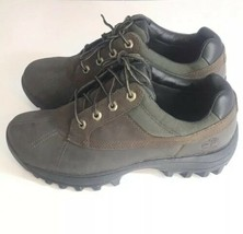 Timberland Shoes Size 9.5 Men's Brown, Green and Black - $64.47 CAD