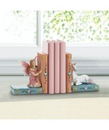 Enchanted Fairy Tale Bookends with Unicorn Storybook Fantasy Decor - $24.95