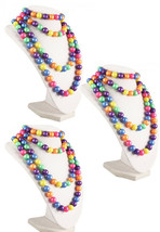 50s Retro Pop Beads Variety Fun Pack - 3 Bags of Rainbow Pop Beads - Hey... - $12.99