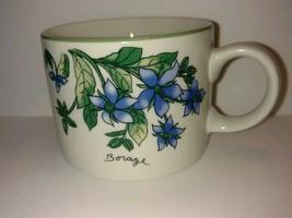 Collectible Coffee Tea Mug Cup Sakura Majesticware Geranium Sue Zipkin 1... - $12.62