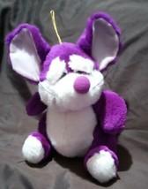 Vintage Stuff Animal, Nanco Purple Mouse, NM - $0.98