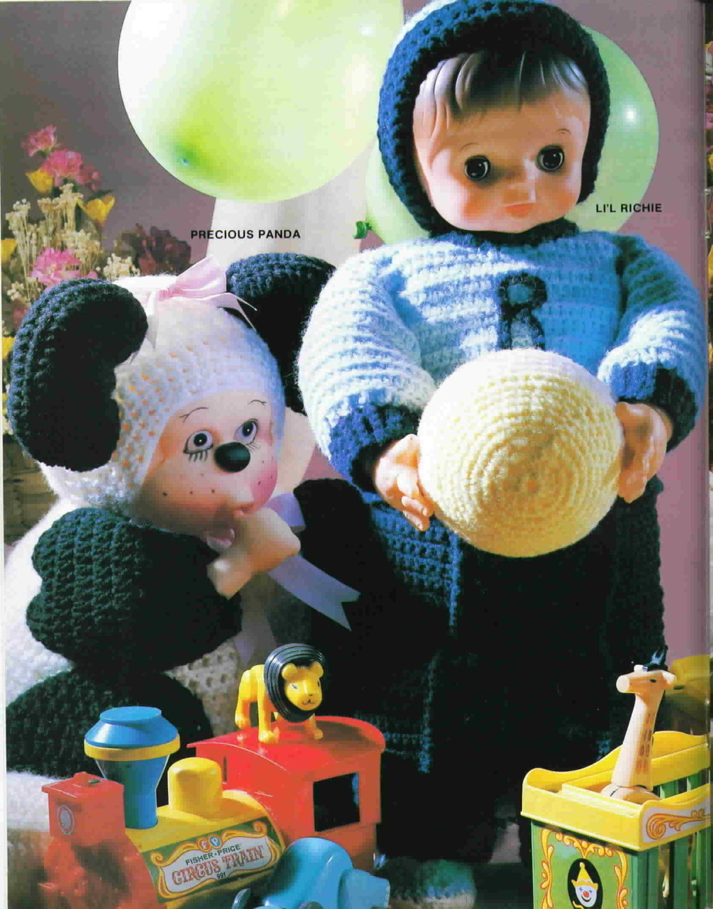 Desirable Dolls A Charming Crochet Collection from Leisure Time Publishing