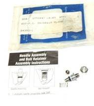 NEW PHD KIT P.C. SD/SEX15 SLIDE 54392-1 NEEDLE ASSEMBLY AND BALL RETAINER