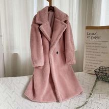 Luxury Fashion Leopard Long Thick  Faux Fur Teddy Bear Coat image 8