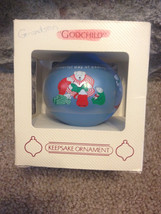 Vintage 1984 Grandson Hallmark Glass Ornament i... - $10.00