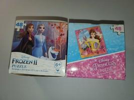 Disney Frozen 2 Puzzle Disney Princess 48 Piece Puzzle NEW - $15.83