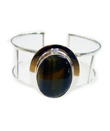 enticing Black Onyx 925 Sterling Silver Black Bracelet jaipur US gift - $69.29