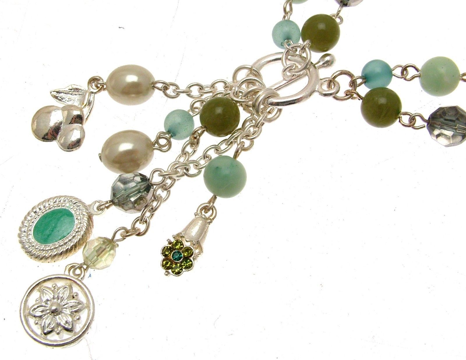 Beaded Necklaces Statement Necklaces For Women Green Beads