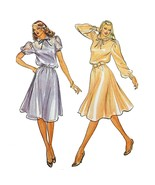 Misses Dress Slip Butterick 3550 Sewing Pattern Vintage Size 16 c2627 - $8.99