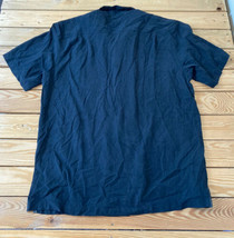 Tommy bahama Men's short sleeve button up silk shirt size L Black X8 - $19.79