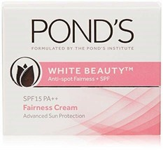 Ponds White Beauty Spot Less Daily Lightening Cream SPF 15 PA++ 50 GM (1... - $11.50