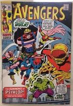 AVENGERS #88 (1971) Marvel Comics Harlan Ellison script VG+ - $14.84