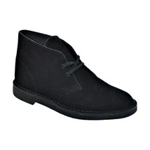 Clarks Bushacre 2 Men's Boots Black-Black Suede 82288 - $65.21