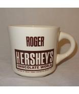 Roger Hersheys Chocolate World Coffee Mug 9 oz Cup Personalized Named - $14.89