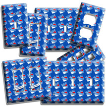 New York Rangers Nyr Hockey Team Pattern Light Switch Outlet Wall Plate Hd Decor - $10.99+