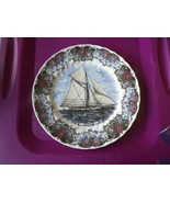 Churchill dinner plate (Currier and Ives Nautical-Volunteer) 1 available - $7.87
