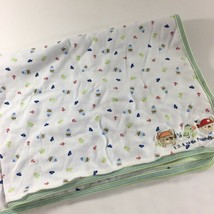 Carters Just One Year 123 Little Friends Baby Blanket Dog Puppy Pirate B... - $16.83