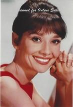 Audrey Hepburn Beautiful Smile 4x6 Photo - $4.99