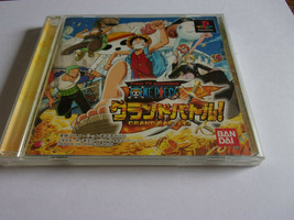 One Piece Grand Battle! - Bandai 2001 - Sony Playstation 1 NTSC-J - $15.31