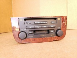 03-07 Highlander Hybrid Stereo CD Disc Cassette Player 86120-48480 image 2