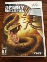 Deadly Creatures - Nintendo Wii Nintendo Wii,Wii Video Games - $7.69