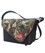 "Manhattan Portage Flat Iron Bike Messenger School Laptop Bag 11"" Black &... - £16.08 GBP"