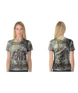 Black Veils Brided V-Neck Tee Women's T-Shirt - $21.99