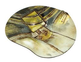 D'Lusso Designs Large Round Plate Precilla Design - $42.93
