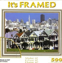 It's Framed Alamo Square, San Francisco, Usa Puzzle (Brand New Factory S... - $18.88