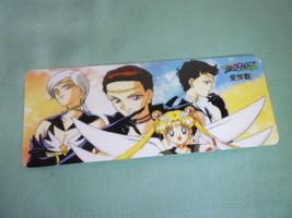Sailor moon bookmark card sailormoon anime eternal moon starlights (yellow) - $6.00