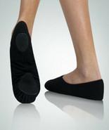 Body Wrappers 246A Adult Size 8M Black Canvas Split Sole Ballet Slipper - $12.99