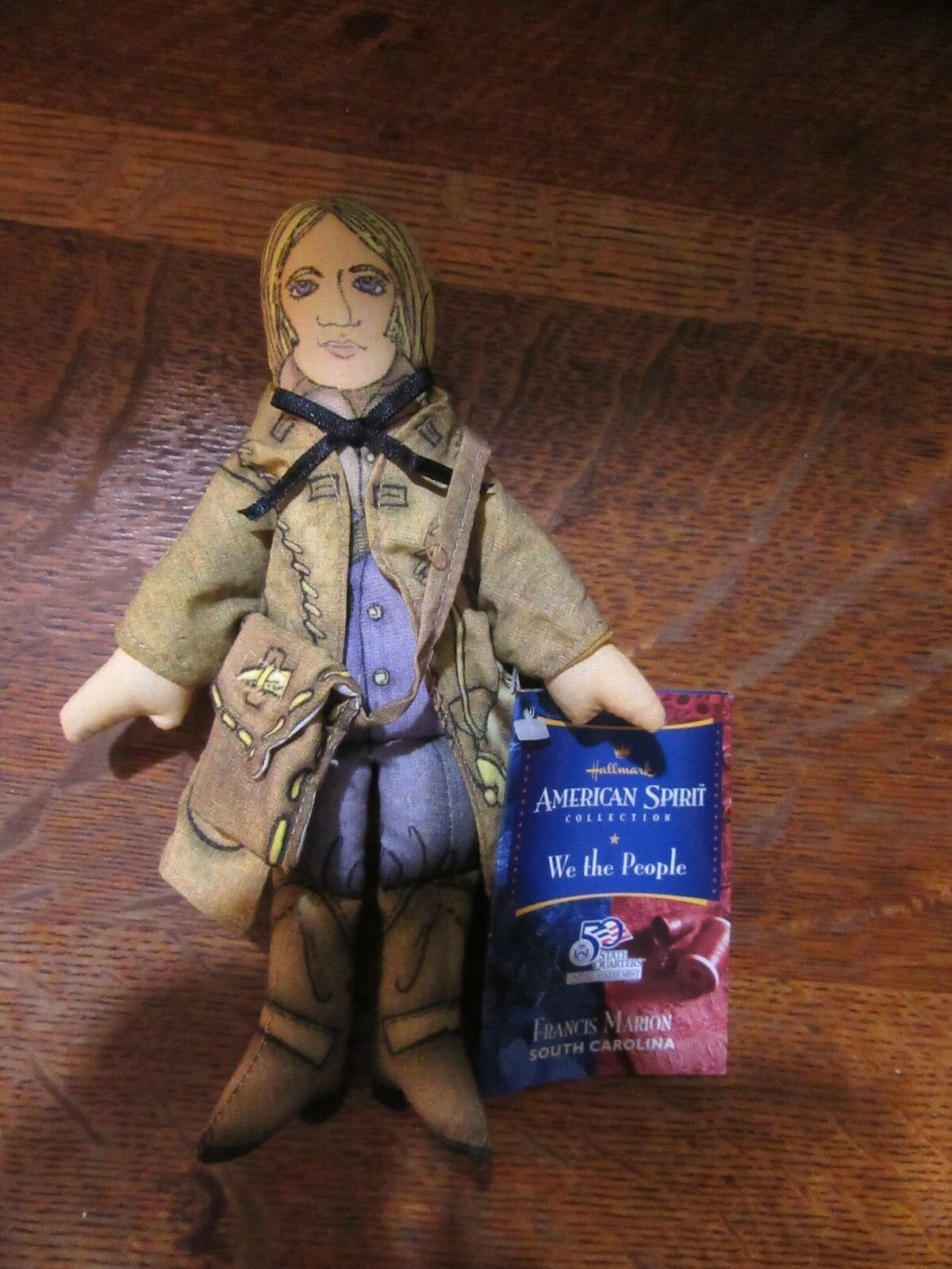 doll Francis Scott Key Hallmark American Spirit We the People United States Mint