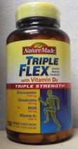 Nature Made Triple Flex TripleFlex with Vitamin D3 Triple Strength - 120... - $18.99