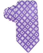 Alfani Men's Tortola Silk-Blend Slim Tie Necktie  Purple MSRP $49.50 - $16.34