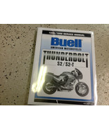 1995 1996 BUELL THUNDERBOLT S2 S2-T Service Shop Repair Workshop Manual - $197.95