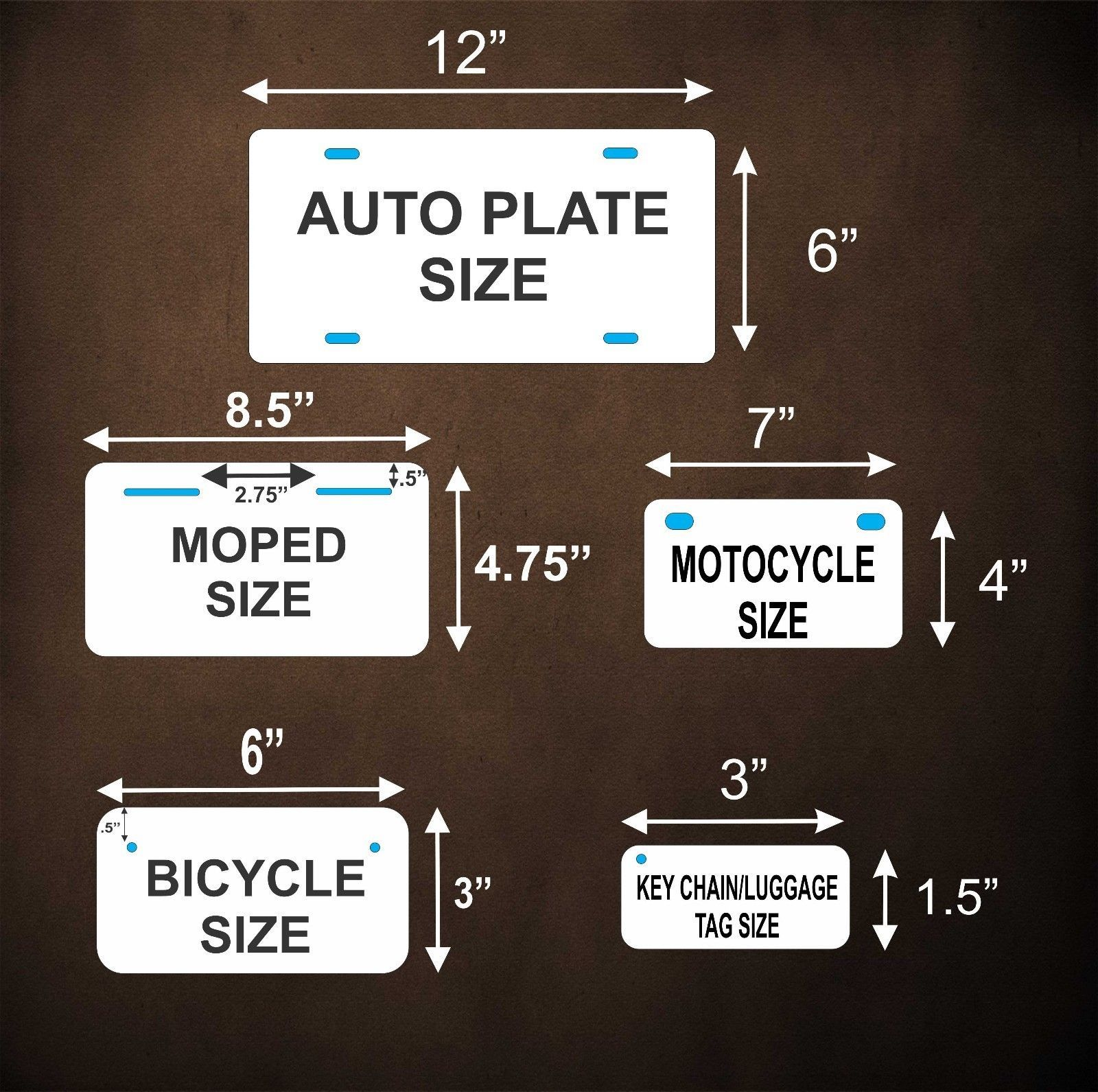 Ontario 1966 Canada Tag License Plate Personalized Auto Bike Motorcycle Moped