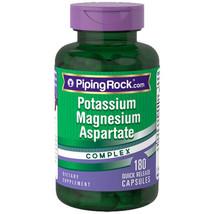 Potassium Magnesium Aspartate Complex 180 Caps Piping Rock - $12.98