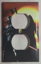 Star Wars Darth Vader kylo Ren Light Switch Outlet wall Cover Plate Home decor image 2