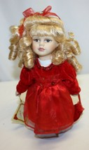 Collector's Choice Porcelain Doll With Hand Tag - $29.69