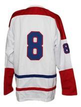 Custom Name # Houston Apollos Retro Hockey Jersey New White Any Size image 4