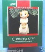 Hallmark Keepsake Ornament Christmas Kitty 1989 - $8.00