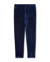 Polo Ralph Lauren Big Girls Velvet Leggings Navy XL / 16 - $55.64