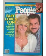 People Weekly Magazine June 7 1982 Burt Reynolds & Loni Anderson WKRP - $29.69